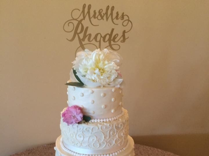 Tmx 1500319484598 1301077613164577450351001053458960283783727n Battleboro wedding cake