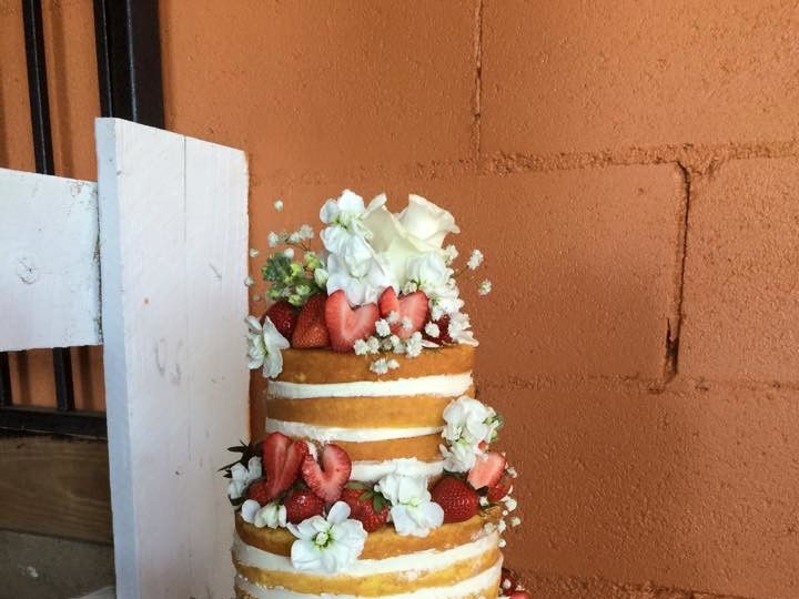 Tmx 1500319698642 Naked Cake Battleboro wedding cake