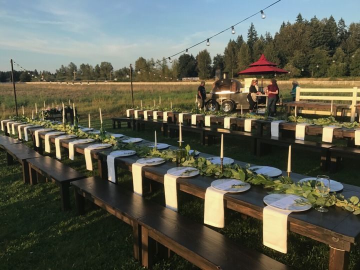 Rustic Farm Tables & Benches