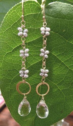 Tmx 1240345473187 Bridalleafearringcopy Philadelphia wedding jewelry