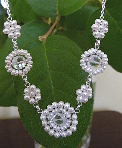 Tmx 1240426316312 Bridalleafnecklacecopy Philadelphia wedding jewelry