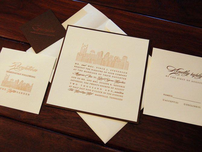 Tmx 1484858107388 Designers Fine Press Urban Westwood, NJ wedding invitation