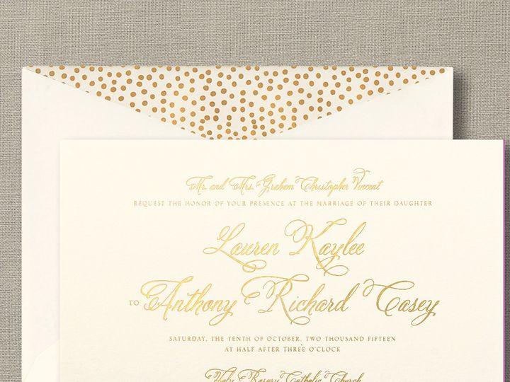 Tmx 1484858342758 William Arthur Westwood, NJ wedding invitation