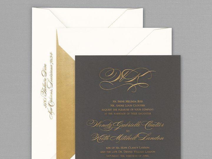 Tmx 1484858362878 Vera Wang Invitation Westwood, NJ wedding invitation