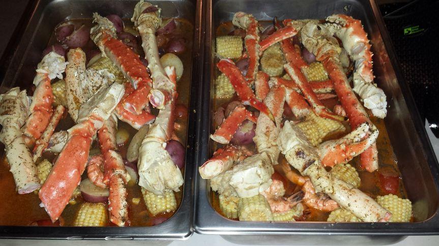 King Crab & Shrimp Boil