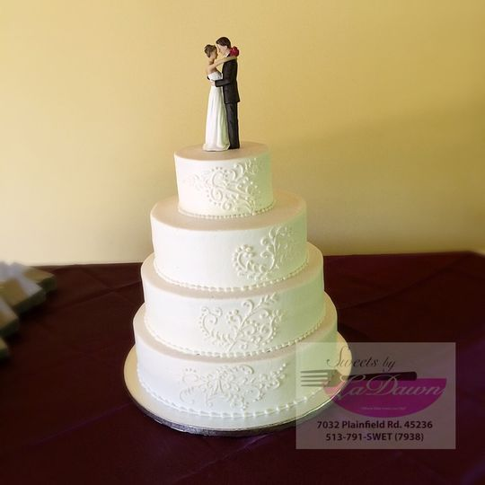 Sweets by LaDawn - Wedding Cake - Cincinnati, OH - WeddingWire