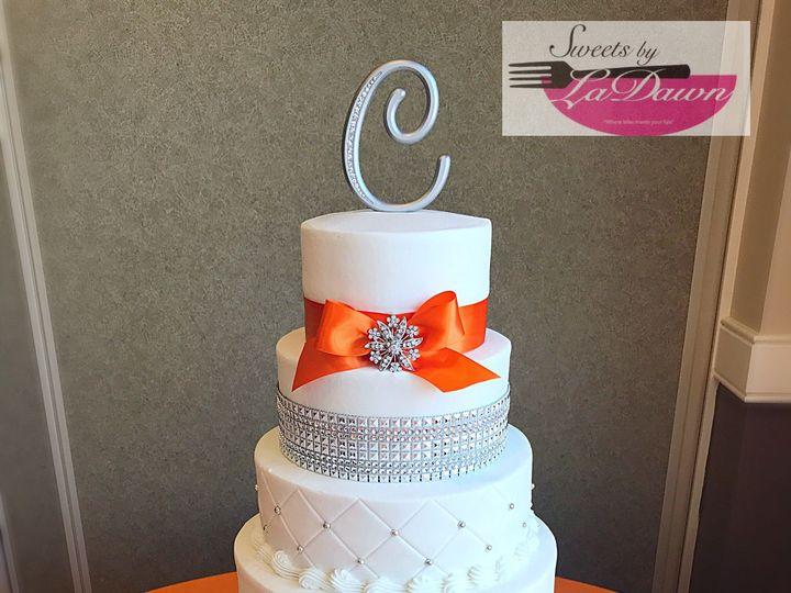 Tmx 1538896957 9a6d0ea0a0433d58 1538896955 1d4e073cc81eb5dc 1538896932440 3 FB07F50D 4454 4EC5 Cincinnati, Ohio wedding cake