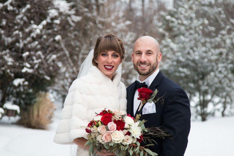 Winter wedding at Manor House