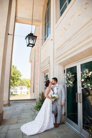 St. Ignatius Bride and Groom