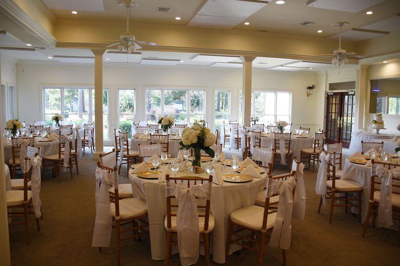 Simple elegant reception