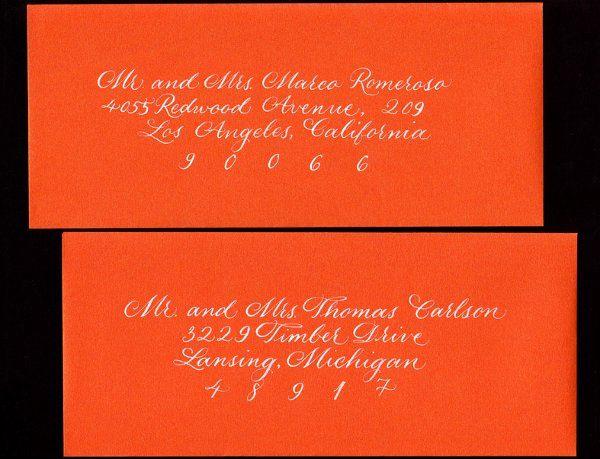 OrangeandWhiteenvelopes
