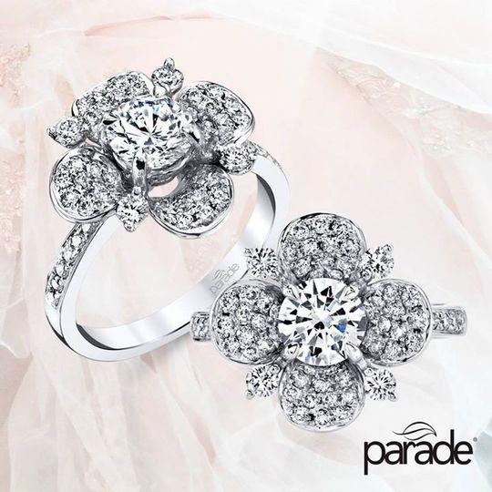 floral ring r3686