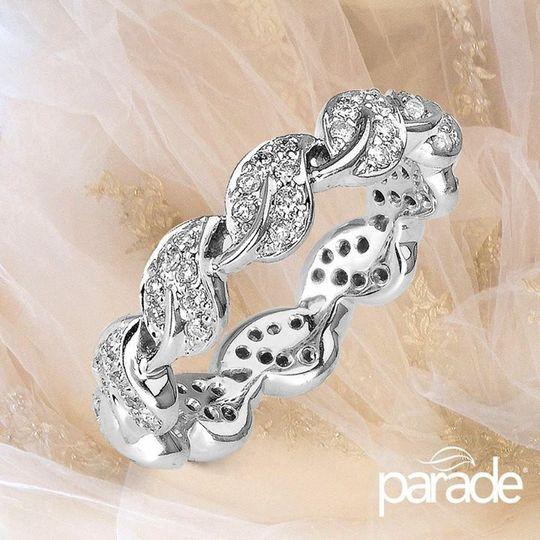 lyria diamond eternity band
