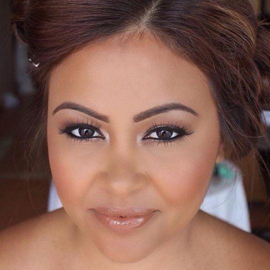 Simple make-up look