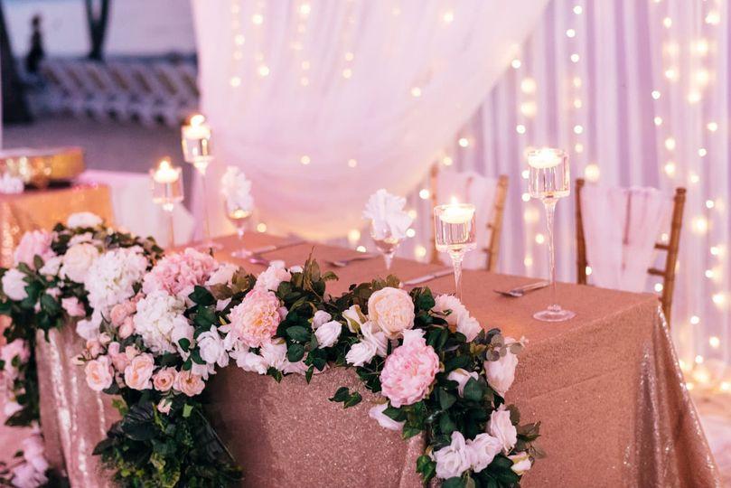 #Sweetheart Table Decor