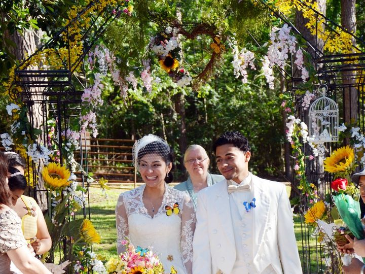 Tmx 1506002153647 Rock Garden Ceremony3 Huntsville, Texas wedding venue