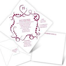 Always Bubbly - Seal and Send Invitation Looking for an invitation that's fun, modern and full of...