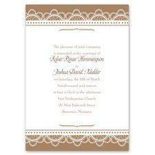 Regal Appeal - Monogram - Invitation An invitation with rich design doesn't have to cost a fortune....