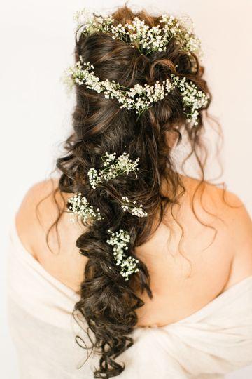 Greek princess hair