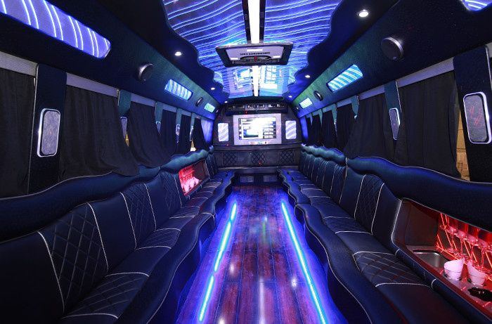 party bus interrior