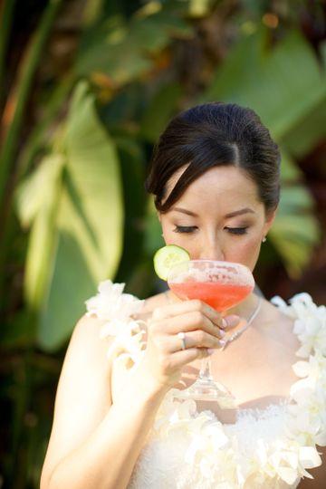 anna kim bride drinking