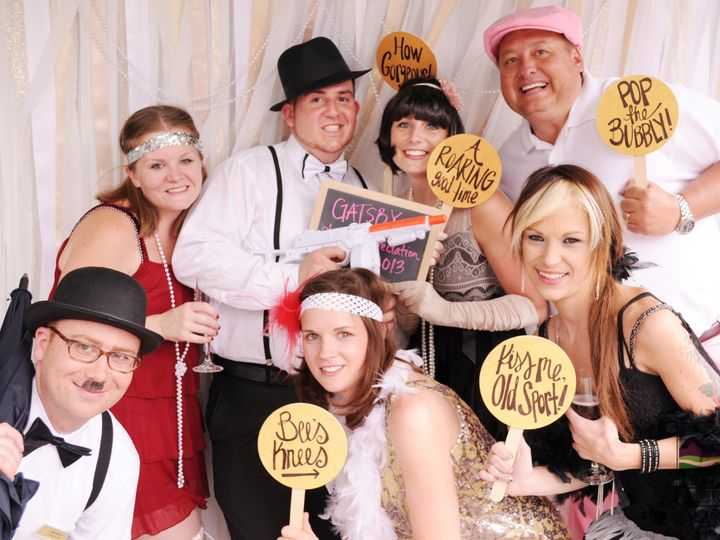 Tmx 1384390017068 Plaza Conference Center 20s Party Confetti Booth 1 Stevensville wedding planner