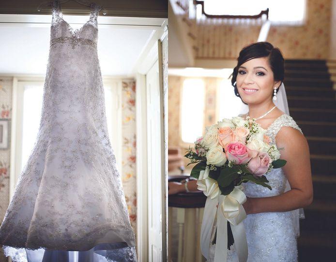 Wedding at Lindley-Scott house