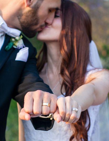 Fullerton arboretum wedding, beautiful wedding couple, wedding rings