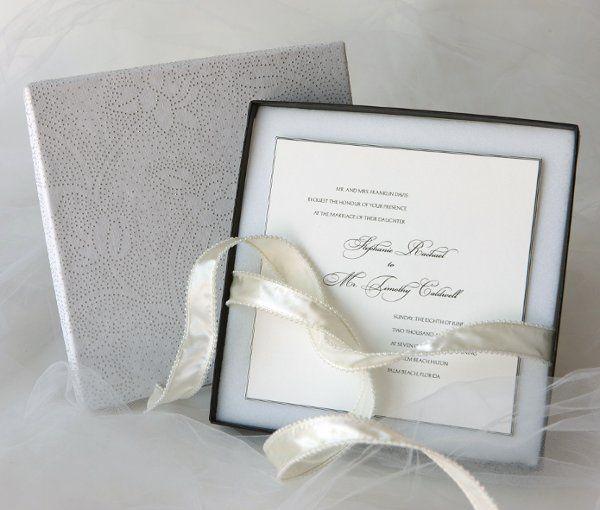 Tmx 1280853447064 OpenWaltzboxwithRibbon East Orange wedding invitation