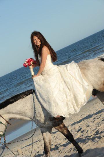 Beach Wedding at the Ritz Carlton Amelia Island FL