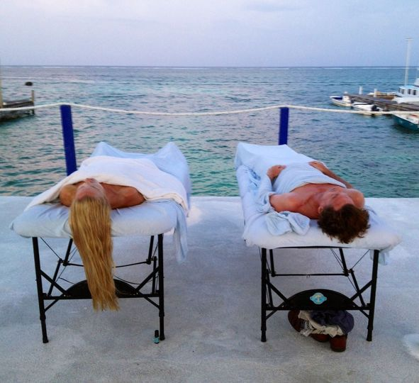 Massage by the reef day spa belize