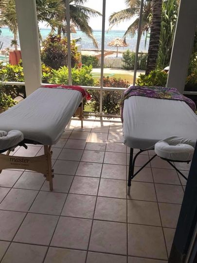 Massage in the privacy of vacation rental