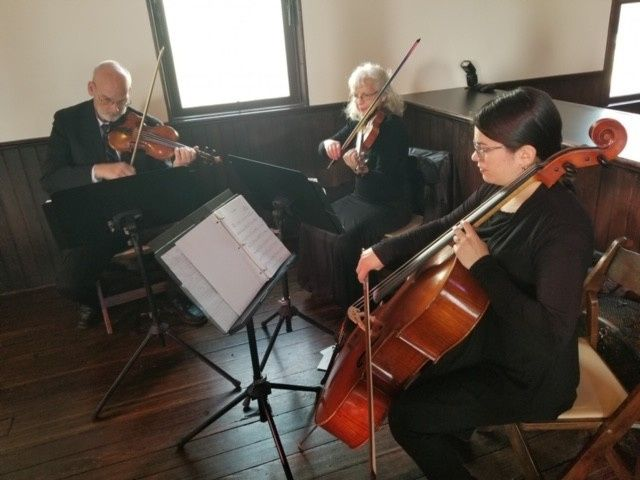 Tmx Trio At All Saints Chapel 51 678616 158342000025491 Raleigh, North Carolina wedding ceremonymusic