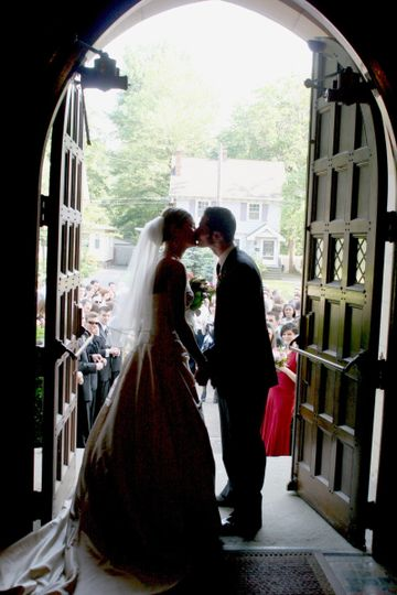 The kiss before greeting the world!