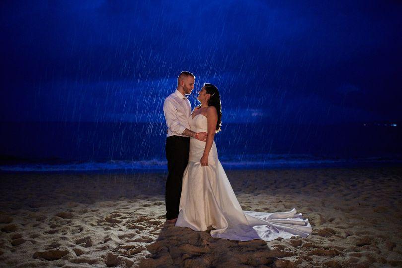 Fabi and Steven- Beach Wedding