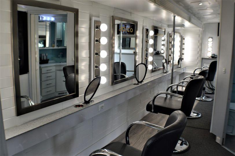 Large Traveling Salon