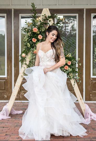 White Linen Barn Wedding