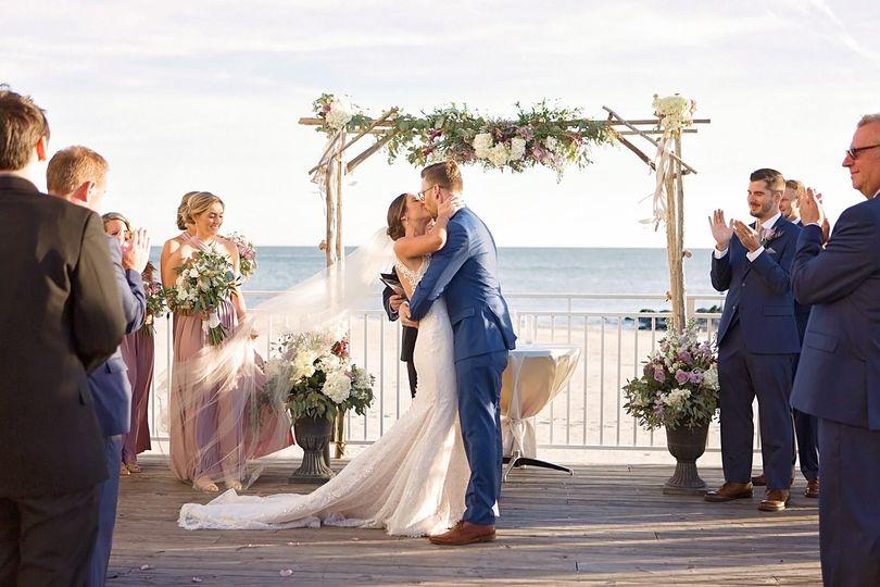 Beach weddings in south nj mini bridal for Beach weddings in washington state