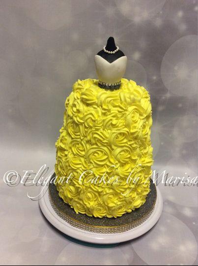 Elegant Cakes by Marisa - Wedding Cake - Irving, TX - WeddingWire