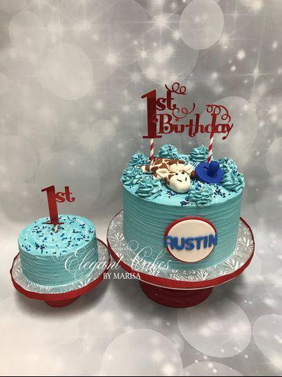 Custom Birthday/Smash cake