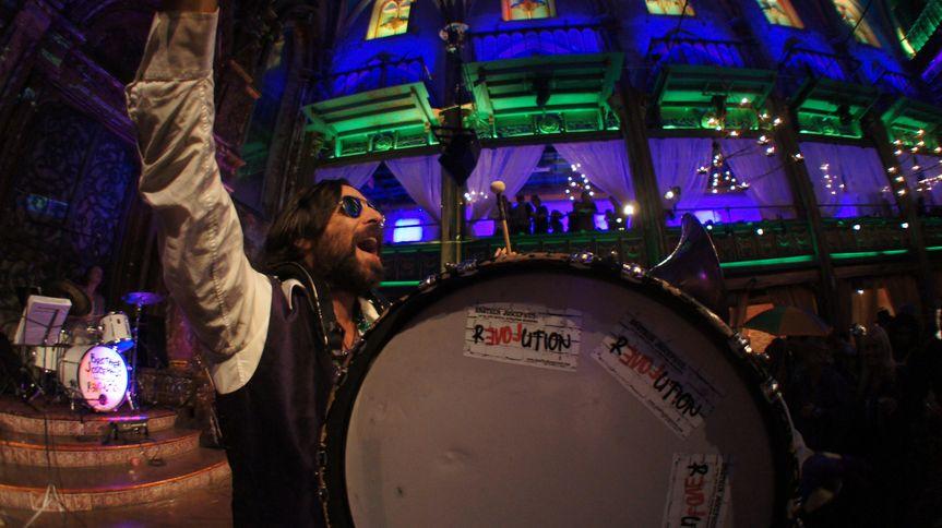 Mardi Gras Marching Drum