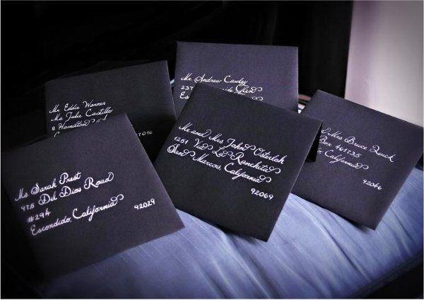 Tmx 1334134626162 Blackonwhite Holly Springs wedding invitation