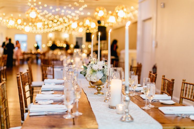 Long table-Emily Wren Photography