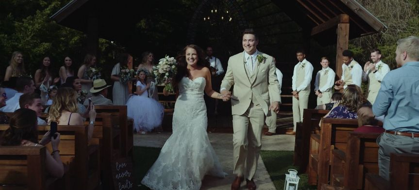 Jordan + Jordan - more screen grabs from their wedding day in their album below! (click load more...