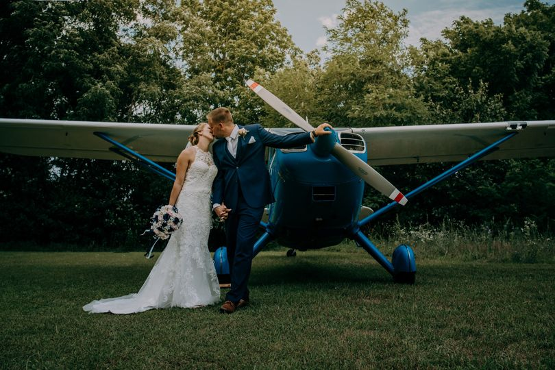 Plane wedding 2018