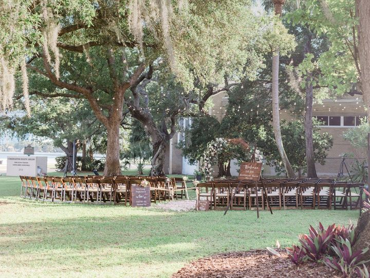 Tmx Side Lawn Ceremony 51 71816 1565209276 Tampa, FL wedding venue