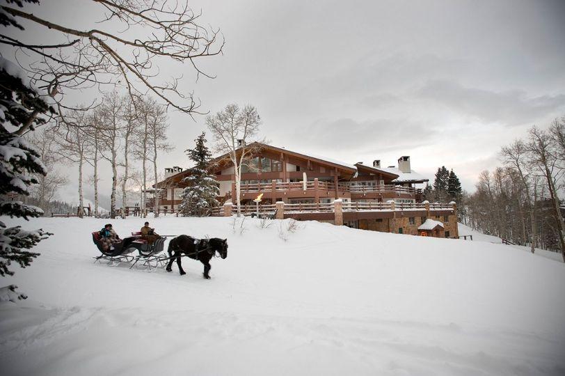 Outlook of Stein Eriksen Lodge