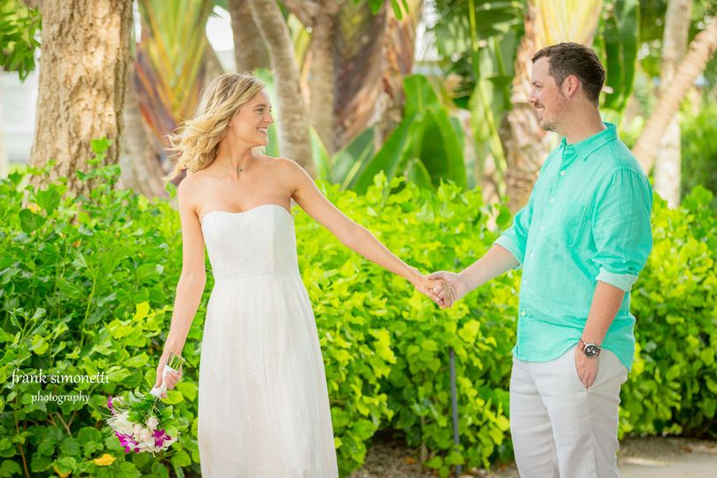 Casa Ybel Resort is the venue for this destination wedding couple