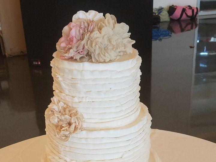 Tmx 1505248873540 Ruffled Three Tier Tipton, IA wedding cake