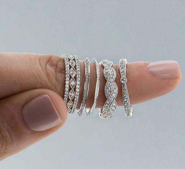 Diamond Wedding Band Shapes